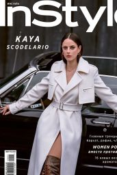 Kaya Scodelario - InStyle Magazine Russia March 2020 Issue