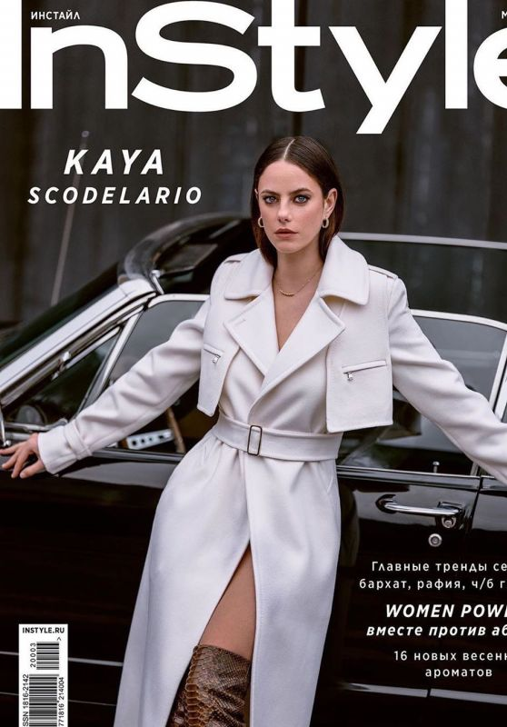 Kaya Scodelario - InStyle Russia March 2020 Cover