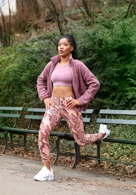 Keke Palmer - Working Out in NY 01/30/2020