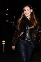 Kelly Brook - Leaving Global Radio in London 02/12/2020