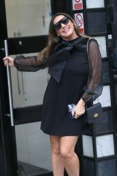 Kelly Brook - Out in London 02/14/2020