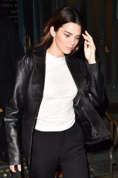 Kendall Jenner in Casual Outfit 02/13/2020