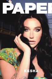 Kesha - Paper Magazine March 2020 Cover and Photos