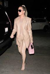 Khloe Kardashian Night Out - Carousel Restaurant in Glendale 02/19/2020