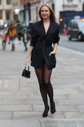 Kimberley Garner - Atelier Zuhra Show at London Fashion Week 02/15/2020