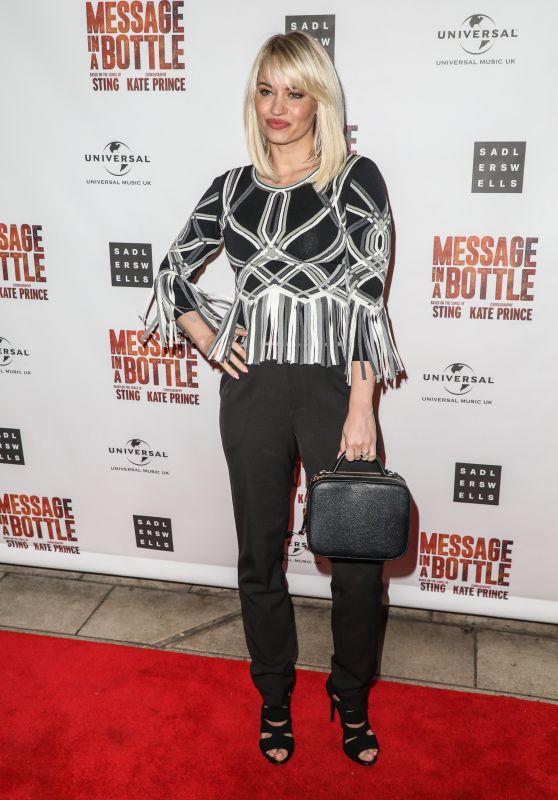 """Kimberly Wyatt - """"Message in a Bottle"""" Press Night in London 02/19/2020"""