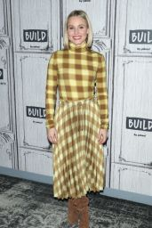 Kristen Bell - BUILD Series at Build Studio in NYC 02/21/2020