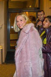 Kristen Bell - Leaves Hotel Kempinski in Wien 02/18/2020