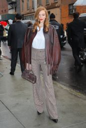 Larsen Thompson - Arriving at the Coach Fashion Show in NYC 02/11/2020