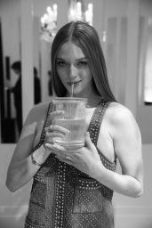Larsen Thompson - Baccarat Crystal Clear Event in Paris 02/27/2020