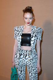 Larsen Thompson - Balmain Show at Paris Fashion Week 02/28/2020