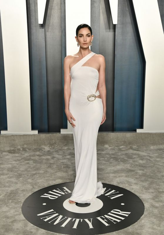 Lily Aldridge – Vanity Fair Oscar Party 2020