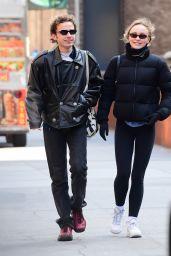 Lily-Rose Depp Street Style 02/12/2020