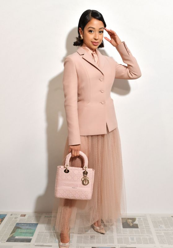Liza Koshy – Dior Show at Paris Fashion Week 02/25/2020