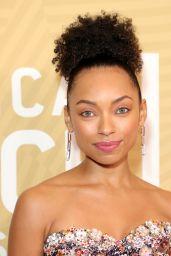 Logan Browning – American Black Film Festival Honors in LA 02/23/2020