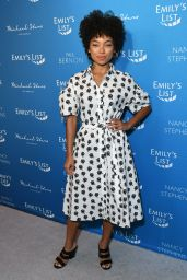 Logan Browning – EMILY's List Brunch and Panel Discussion in LA 02/03/2020