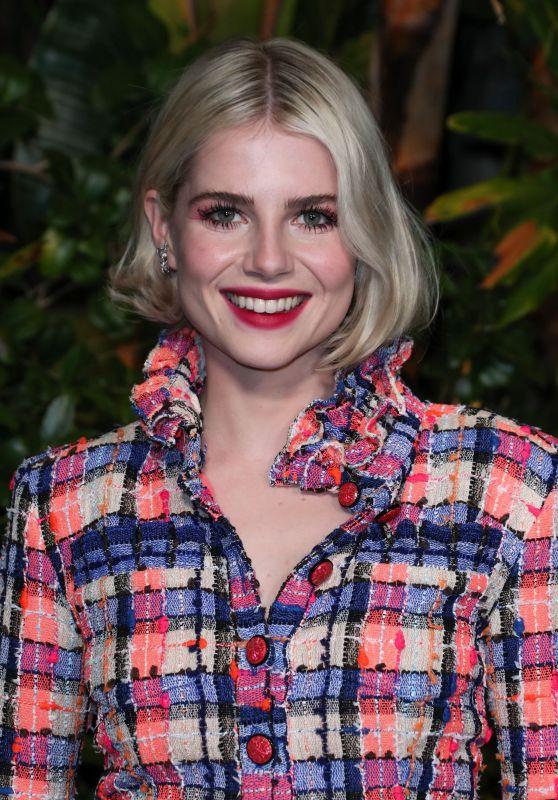 Lucy Boynton – Charles Finch and Chanel Pre-Oscar Awards 2020 Dinner