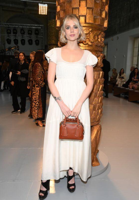Lucy Boynton - Chloe Show at Paris Fashion Week 02/27/2020