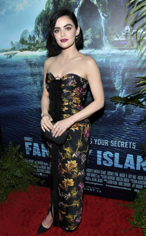 Lucy Hale Fantasy Island Premiere In Century City
