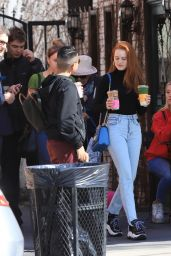 Madelaine Petsch Street Style - Alfred Coffee in LA 02/17/2020