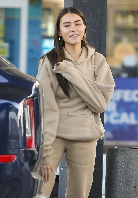 Madison Beer at a Gas Station in LA 02/06/2020