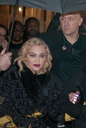 Madonna - Leaving the Rex Hall in Paris 02/23/2020