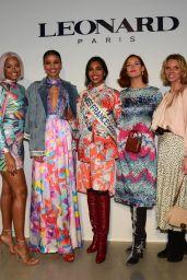Maeva Coucke – Leonard Show at Paris Fashion Week 02/27/2020