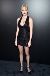 Maika Monroe – Saint Laurent Show in Paris 02/25/2020