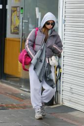 Maisie Smith in Casual Outfit - North London 02/24/2020