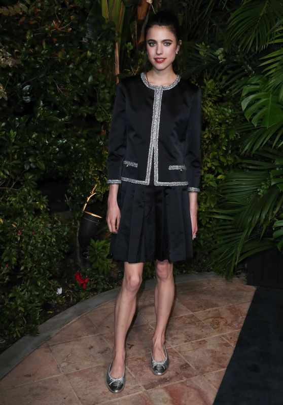 Margaret Qualley – Charles Finch and Chanel Pre-Oscar Awards 2020 Dinner