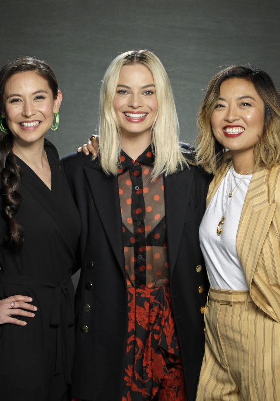 Margot Robbie and Cathy Yan - Los Angeles Times 2020