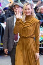 Margot Robbie - Outside Good Morning America in New York 02/04/2020