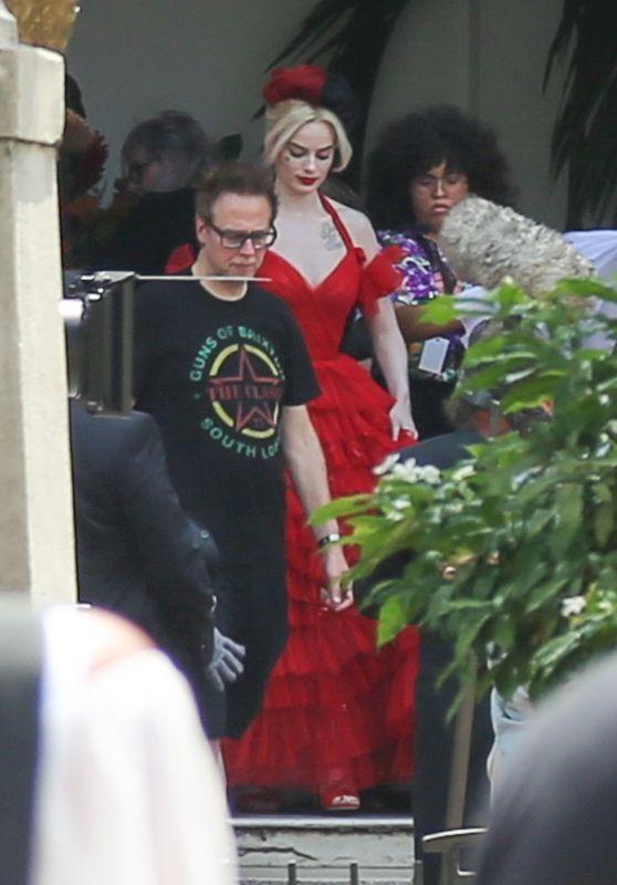 "Margot Robbie - ""Suicide Squad"" Set in Panama City 02/13/2020"