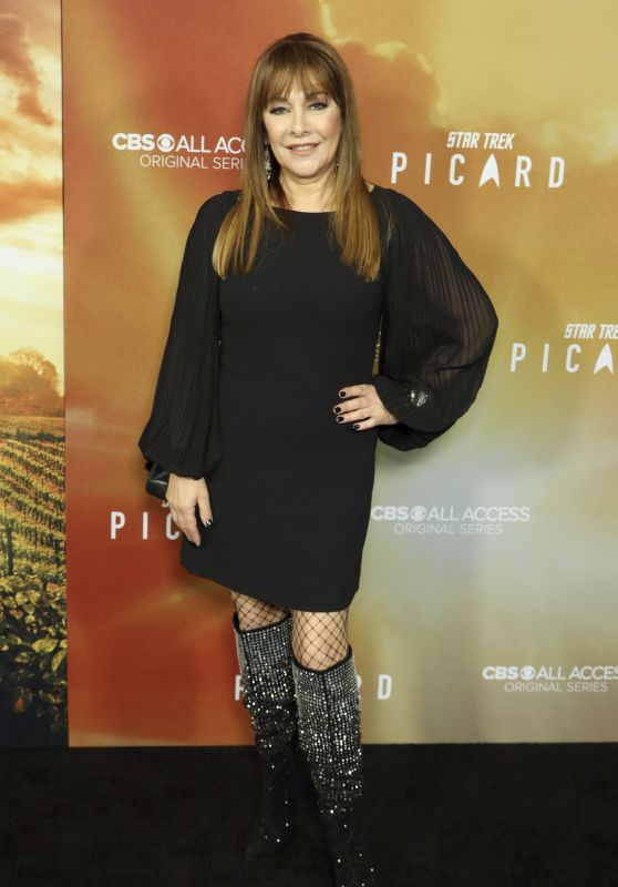 "Marina Sirtis – ""Star Trek: Picard"" Premiere in Hollywood"