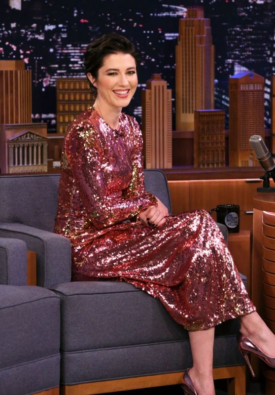 Mary Elizabeth Winstead - Tonight Show Starring Jimmy Fallon in NYC 02/03/2020