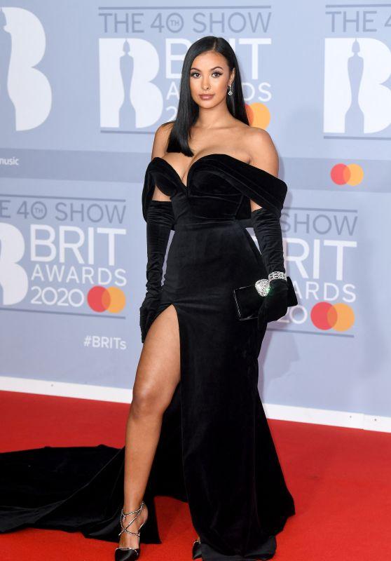 Maya Jama – BRIT Awards 2020