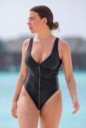 Megan Barton-Hanson in a Swimsuit - Maldives, January 2020