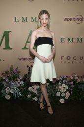 "Mia Goth – ""Emma."" Premiere in Los Angeles"