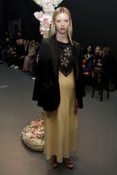 Mia Goth - Tory Burch Fashion Show in NYC 02/09/2020