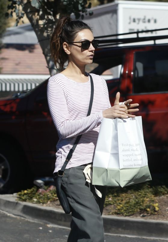 Mila Kunis - Shopping in Bel Air 02/26/2020
