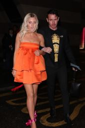 Mollie King – Arrive at the Sony BRIT Awards 2020 After-Party
