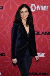 "Morena Baccarin – ""Homeland"" TV Show Final Season Premiere in NY"
