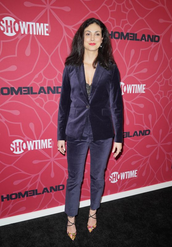 "Morena Baccarin – ""Homeland"" TV Show Final Season Premiere in NY"