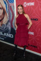 "Morgan Saylor - ""Homeland"" TV Show Final Season Premiere in NY"