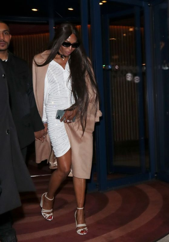 Naomi Campbell - Leaving Love Magazine Party in London 02/17/2020