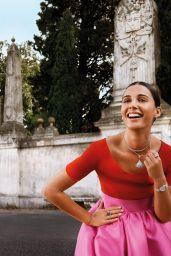 Naomi Scott - Bulgari Mai Troppo Campaign 2020
