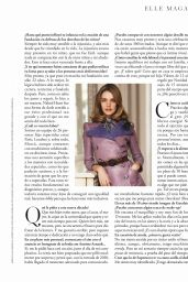 Natalia Vodianova - ELLE Magazine Spain March 2020 Issue