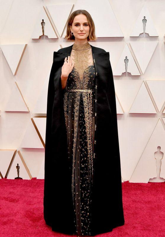 Natalie Portman – Oscars 2020 Red Carpet