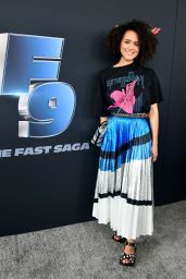 """Nathalie Emmanuel – """"The Road to F9"""" Global Fan Extravaganza in Miami 01/31/2020"""