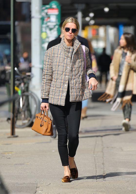 Nicky Hilton Street Style - NY 02/24/2020